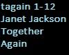 janet jackson together
