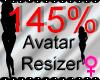 *M* Avatar Scaler 145%