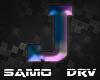 J Letter colored Drv