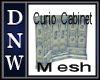 Curio Cabinet Mesh