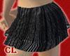 Black Pinstripe Skirt