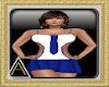(AL)Jai Dress Blue SL