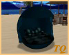 ~TQ~teal ball couch kiss