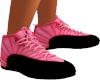 Pink Black Trainers F
