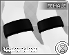 . paw cuffs | black