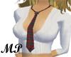 MP College Cutie Red Tie