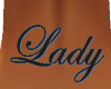 Lady Tramp Stamp Tattoo