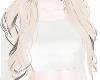 ✧ White basic top