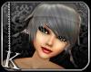 [K] Silver Cutie Hair