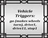 Vehicle Trigger Sign