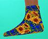 Sunflower Socks flat 2 F