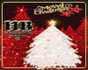CHRISTMAS TREE W/GOLD HB