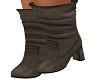 Beige Gable Boots
