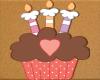 Kids Birthday Cupcake 1