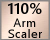 Arm Scaler 110% F A