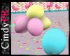 Pastels Floor Balloons