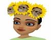 *M* Skull sunflowers