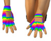 animated rainbow gloves