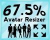 Avatar Scaler 67.5%