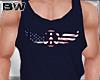 4 USA Peace Tank Shirt