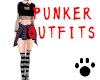 Punker Outfits Purple