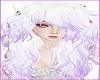 White Purple Doll hair