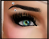 eyes green , verde