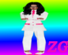 [Z} white&pink suit