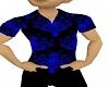 [V2a] Black Blue Shirt