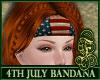 4th of July Bandana