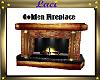 ~L~Golden Fireplace