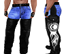 Harley Chaps blue jeans