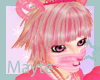 pink panda love hair