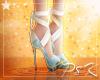 ✩ S Marble Ribbon Heel