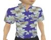 Hawaiin Flowered Shirt