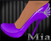 [mm] Chained Purple shoe