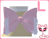 Pink lolita bow[L ankle]