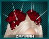 Z' Spiky Red Roses
