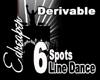 Derivable Line Dance 6s