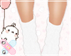 ♚ Kids White Socks