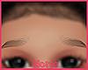 Baby Mia eyebrows