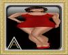 (AL)Jess Dress Red SL