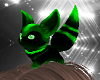 Green Fox Pet Head