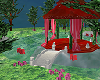 Large Red/pink Gazebo
