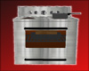 RH Stainless stove