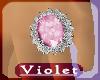(V)Lt Pink Lush ring