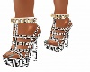 Fendi black&white heels