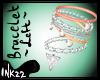 Peach Diamond Bracelet L