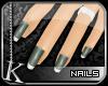 [K] Sage Ice Tip Nails