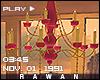 - vintage chandelier -